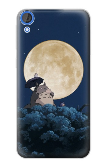 Printed Totoro Ocarina Moon Night HTC Desire 820 Case