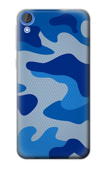 Printed Army Blue Camouflage HTC Desire 820 Case