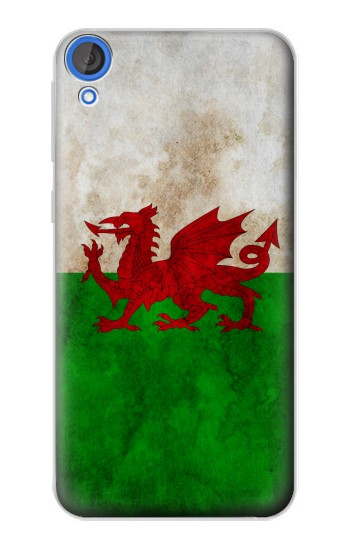 Printed Wales Red Dragon Flag HTC Desire 820 Case