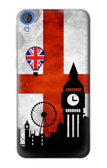 Printed England Football Flag HTC Desire 820 Case