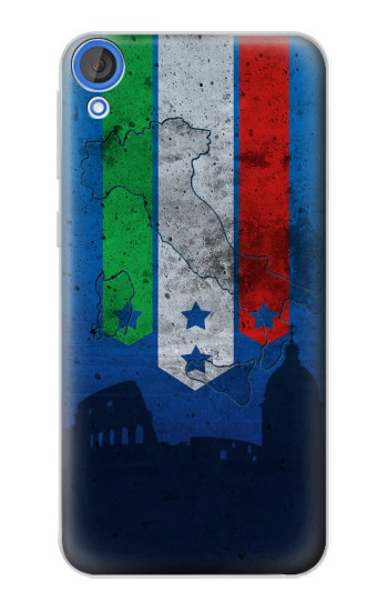 Printed Italy Football Flag HTC Desire 820 Case