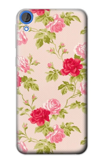 Printed Pretty Rose Cottage Flora HTC Desire 820 Case