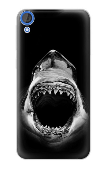 Printed Great White Shark HTC Desire 820 Case