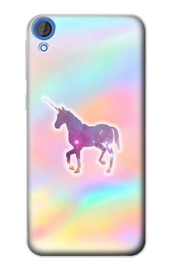 Printed Rainbow Unicorn HTC Desire 820 Case