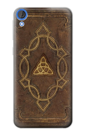Printed Spell Book Cover HTC Desire 820 Case