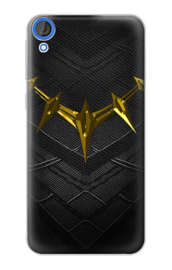 Printed Black Panther Inspired Costume Gold Necklace HTC Desire 820 Case