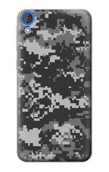 Printed Urban Black Camouflage HTC Desire 820 Case