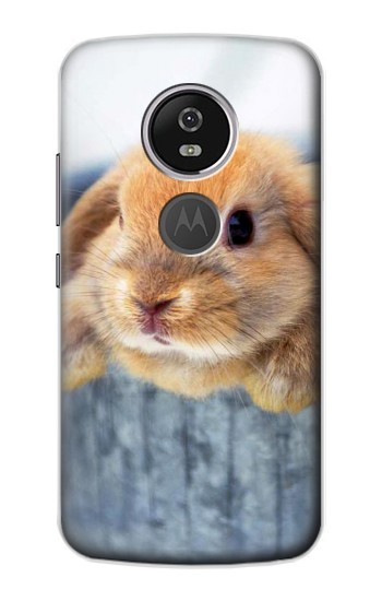 Printed Cute Rabbit Motorola Moto E5 Plus Case