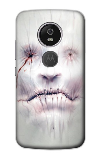 Printed Horror Face Motorola Moto E5 Plus Case