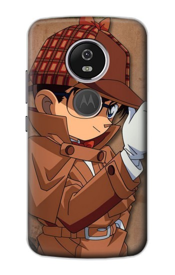 Printed Detective Conan Case Closed Motorola Moto E5 Plus Case