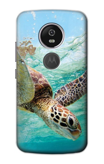 Printed Ocean Sea Turtle Motorola Moto E5 Plus Case