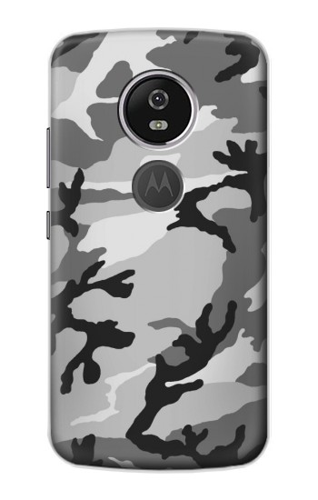 Printed Snow Camo Camouflage Graphic Printed Motorola Moto E5 Plus Case