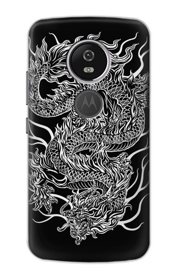Printed Dragon Tattoo Motorola Moto E5 Plus Case