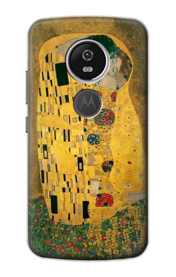Printed Gustav Klimt The Kiss Motorola Moto E5 Plus Case