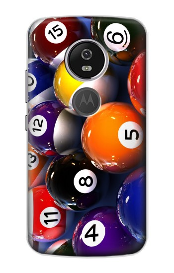 Printed Billiard Pool Ball Motorola Moto E5 Plus Case