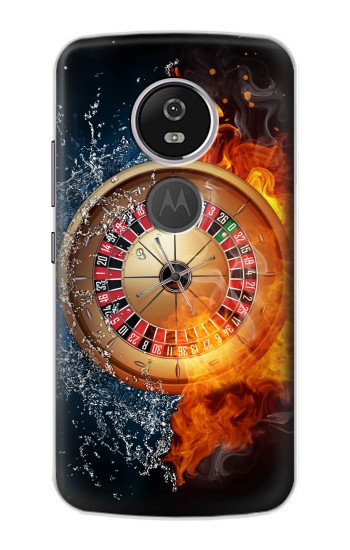 Printed Roulette Casino Gamble Motorola Moto E5 Plus Case