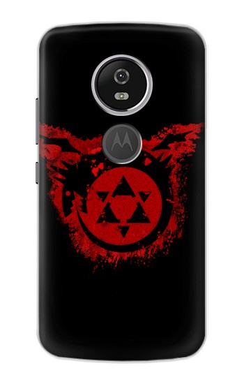 Printed Full Metal Alchemist Uroboros Tattoo Motorola Moto E5 Plus Case