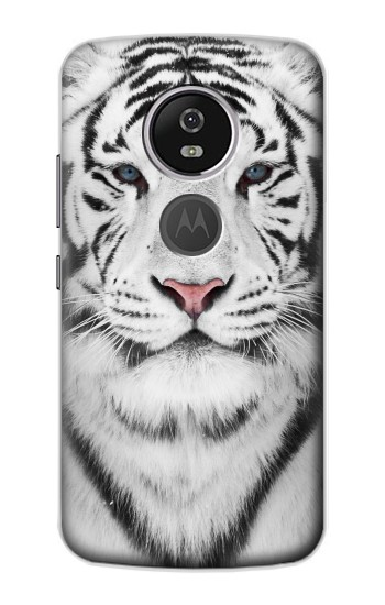 Printed White Tiger Motorola Moto E5 Plus Case