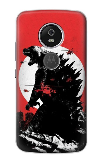 Printed Godzilla Japan Flag Motorola Moto E5 Plus Case