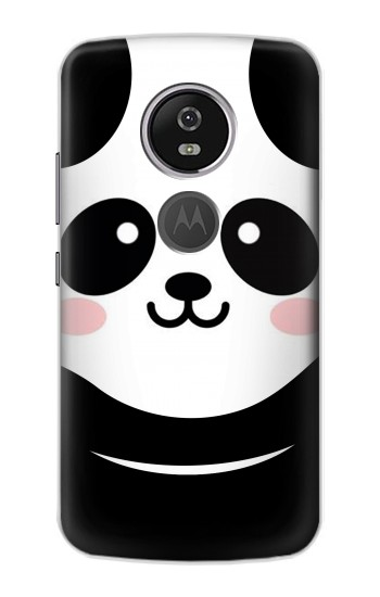 Printed Cute Panda Cartoon Motorola Moto E5 Plus Case