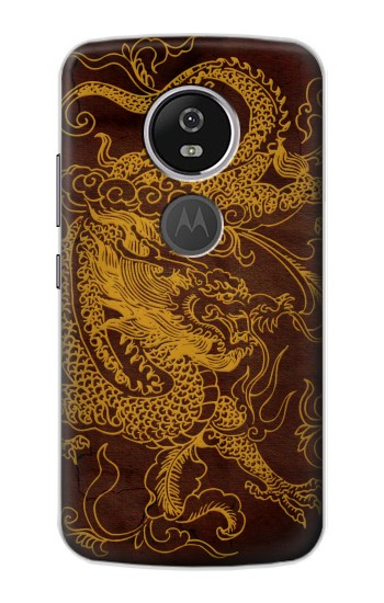 Printed Chinese Dragon Motorola Moto E5 Plus Case