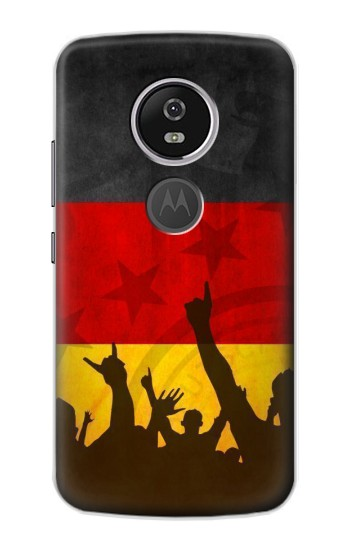 Printed Germany Football Flag Motorola Moto E5 Plus Case