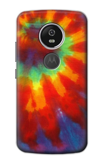 Printed Colorful Tie Dye Fabric Texture Motorola Moto E5 Plus Case