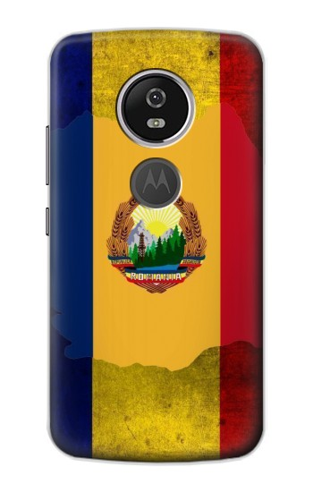 Printed Romania Flag Motorola Moto E5 Plus Case