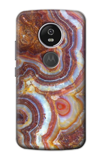 Printed Colored Marble Texture Printed Motorola Moto E5 Plus Case
