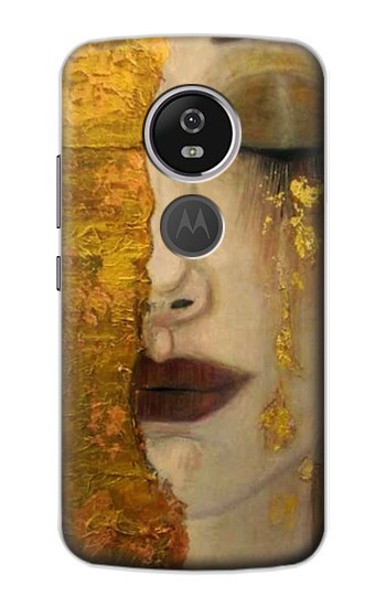 Printed Gustav Klimt Golden Tears Motorola Moto E5 Plus Case
