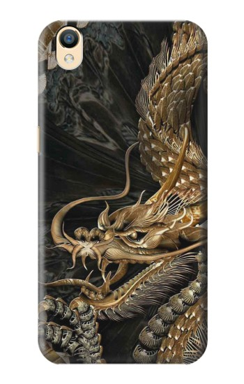 Printed Gold Dragon OnePlus One Case