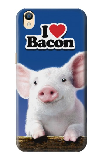 Printed I Love Bacon OnePlus One Case