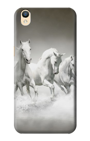 Printed White Horses OnePlus One Case