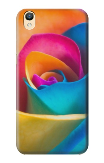 Printed Rainbow Colorful Rose OnePlus One Case