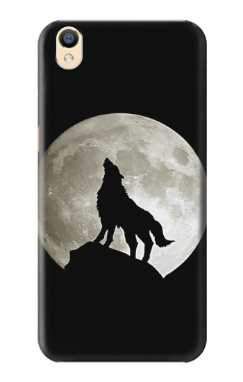 Printed Wolf Howling at The Moon OnePlus One Case