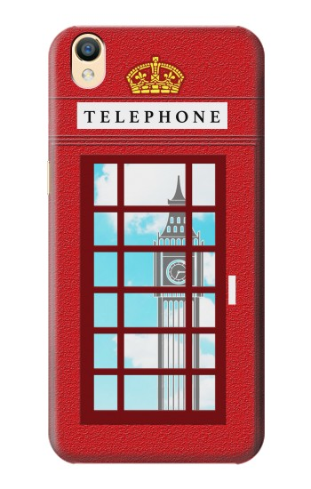Printed England Classic British Telephone Box Minimalist OnePlus One Case