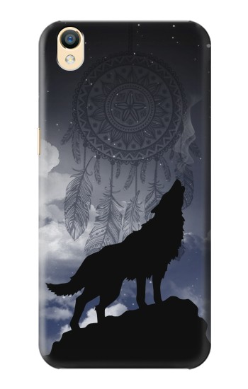 Printed Dream Catcher Wolf Howling OnePlus One Case