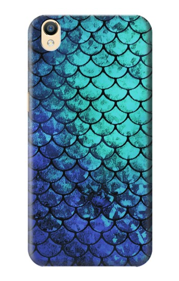 Printed Green Mermaid Fish Scale OnePlus One Case