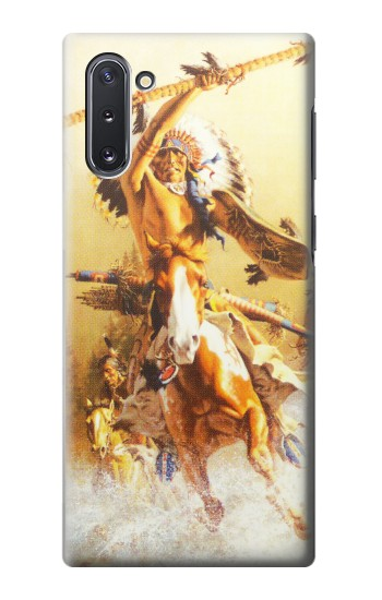 Printed Red Indian Warrior Samsung Galaxy Note 10 Case