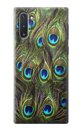 Printed Peacock Feather Samsung Galaxy Note 10 Case