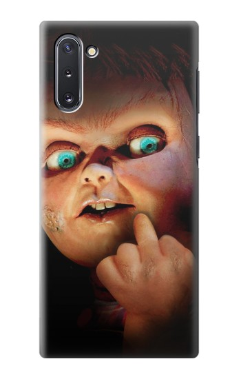 Printed Chucky Middle Finger Samsung Galaxy Note 10 Case