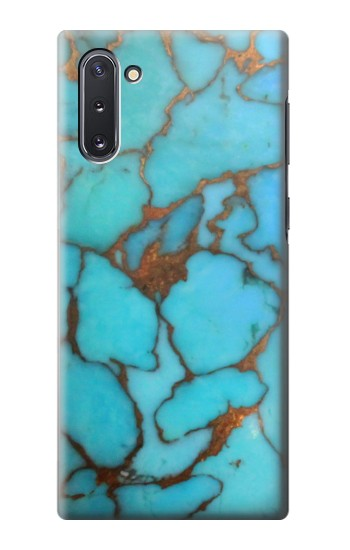 Printed Aqua Turquoise Rock Samsung Galaxy Note 10 Case