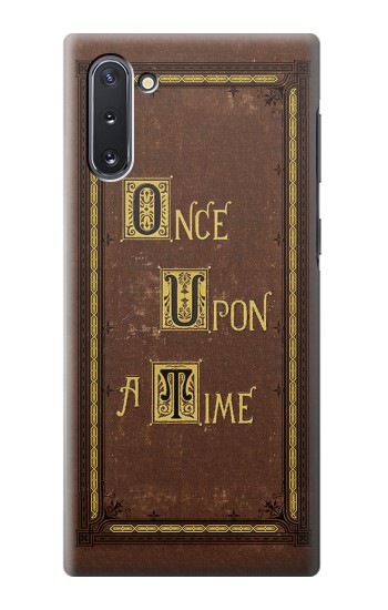 Printed Once Upon a Time Book Cover Samsung Galaxy Note 10 Case