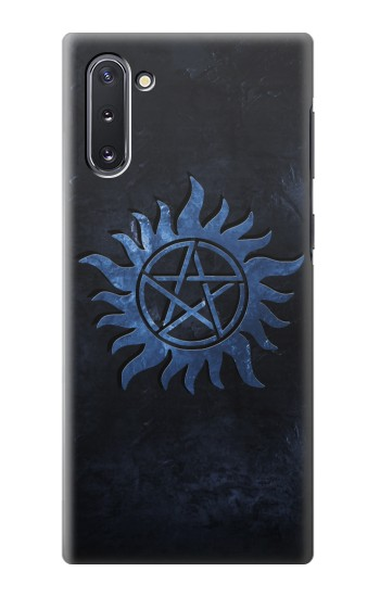 Printed Supernatural Anti Possession Symbol Samsung Galaxy Note 10 Case
