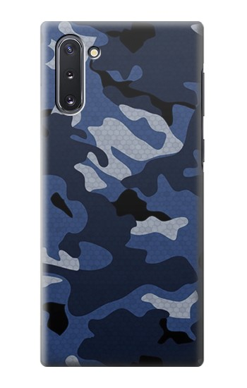 Printed Navy Blue Camouflage Samsung Galaxy Note 10 Case