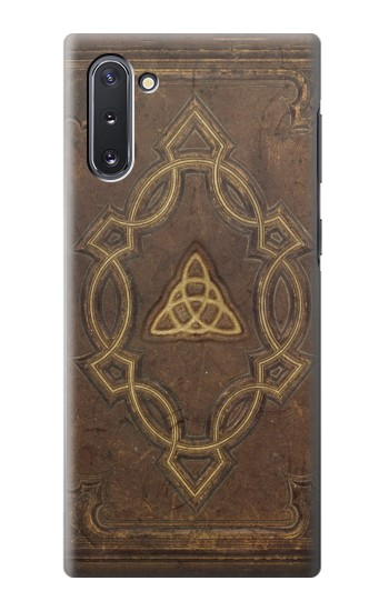 Printed Spell Book Cover Samsung Galaxy Note 10 Case