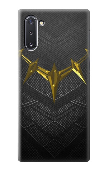 Printed Black Panther Inspired Costume Gold Necklace Samsung Galaxy Note 10 Case