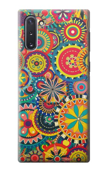Printed Colorful Pattern Samsung Galaxy Note 10 Case