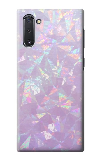 Printed Iridescent Holographic Photo Printed Samsung Galaxy Note 10 Case