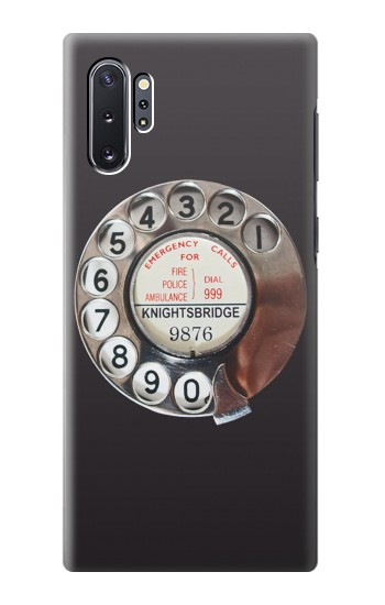 Printed Retro Rotary Phone Dial On Samsung Galaxy Note 10 Plus Case